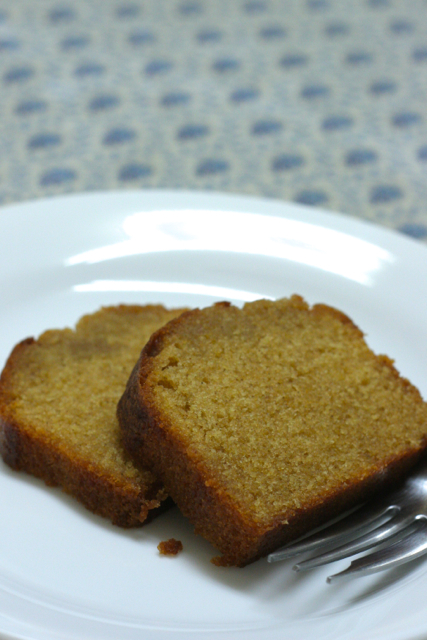 フランス菓子教室百花蜜のパウンドケーキ