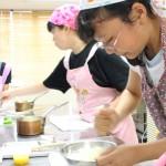 中学生のお菓子教室