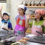 ほうじ茶シフォン 子どもお菓子教室