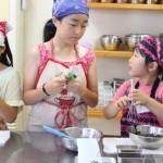子どもお菓子教室 胡麻のブラウニー