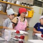 紅玉とさつまいものパイ お菓子教室2