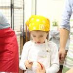 紅玉とさつまいものパイ お菓子教室1