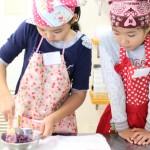 紅玉とさつまいものパイ お菓子教室4