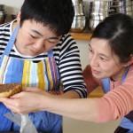 黒糖のタルト お菓子教室10
