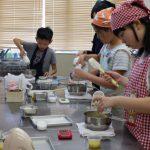 レモンシフォンケーキ お菓子教室1