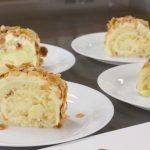 オレンジのロールケーキ お菓子教室