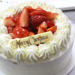 苺のショートケーキ お菓子教室