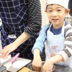 子どもお菓子教室 道明寺