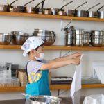 米粉ときな粉のシフォンケーキ 子供お菓子教室