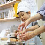 きな粉と米粉のカップケーキ 子供お菓子教室