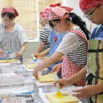 キャロブパウダーのティラミス 子どもお菓子教室