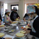クリスマスケーキ作り 子どもお菓子教室