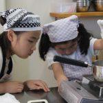 苺水ようかん 子供お菓子教室