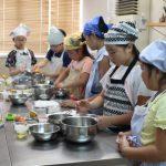 バナナシフォンケーキ 子供お菓子教室