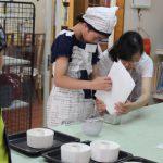 お菓子教室 バナナシフォンケーキ