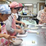 苺のビーガンタルト お菓子教室