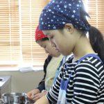 クリスマスシフォンケーキ お菓子教室